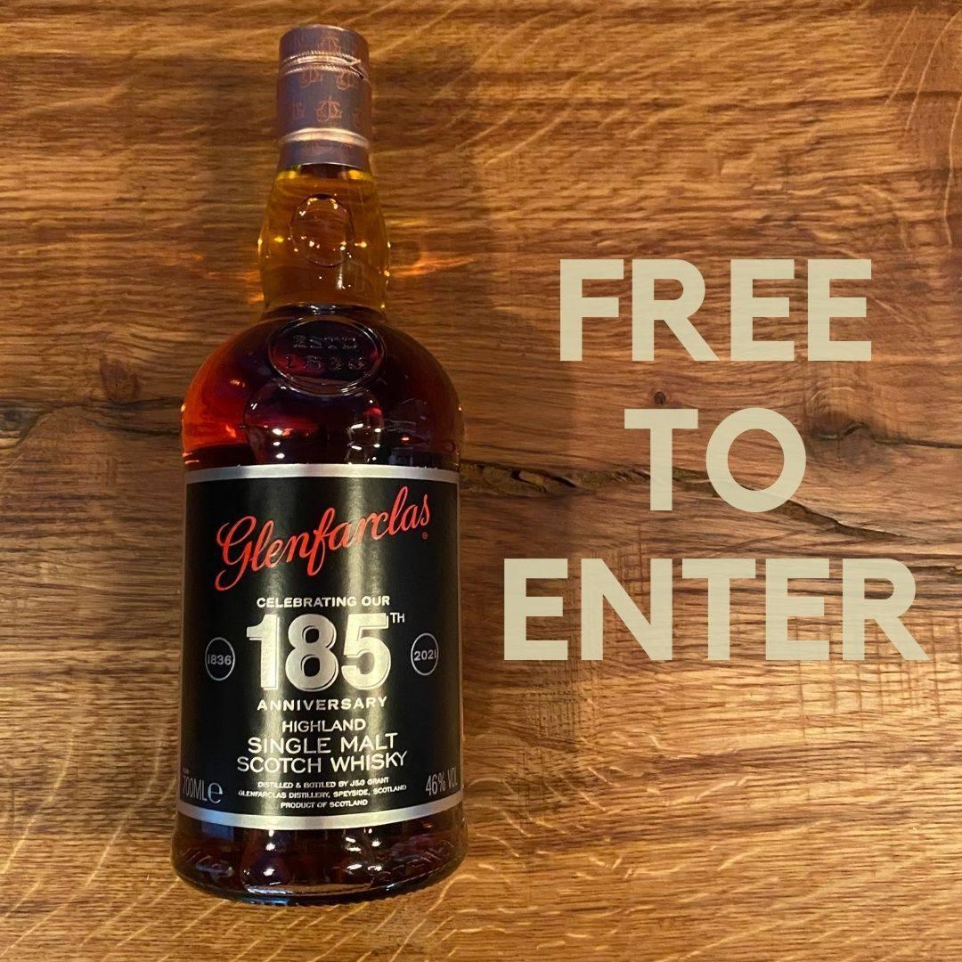 FREE TO ENTER: Glenfarclas 185th Anniversary – Limited Edition